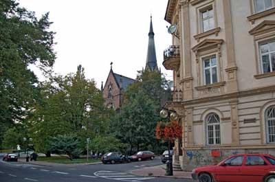 Чешский город Теплице
