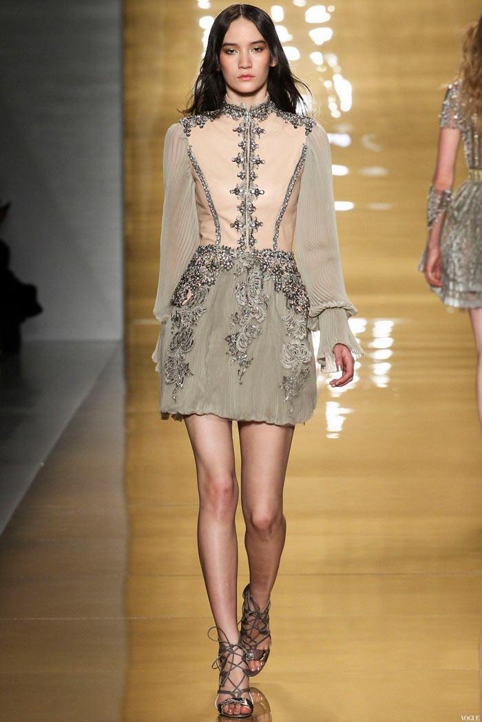 Платье в стиле барокко