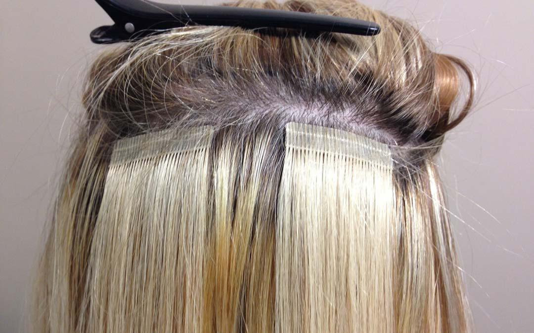 Больше эффектности вашей прическе: ленточное наращивание волос