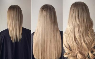 Наращивание волос: преимущества ленточной технологии